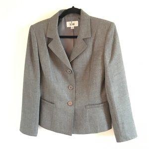 LeSuit Gray Blazer Size 10